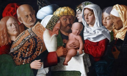 The Circumcision by Bartolomeo Veneto, painted in 1506