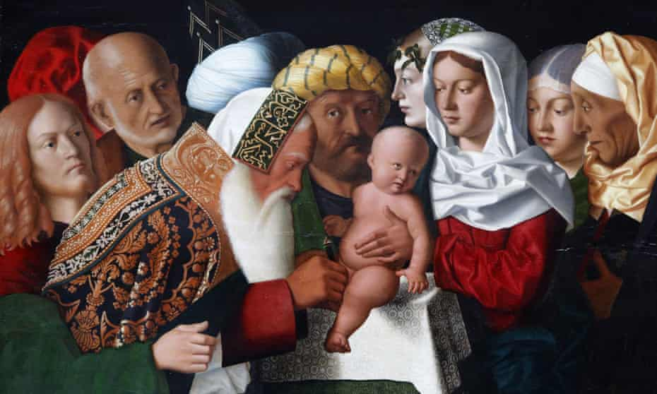 A Bartolomeo Veneto painting from 1506 depicting a circumcision.