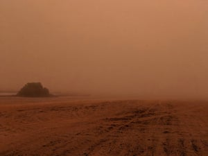 Mildura has been hit by its worst dust storm in years.