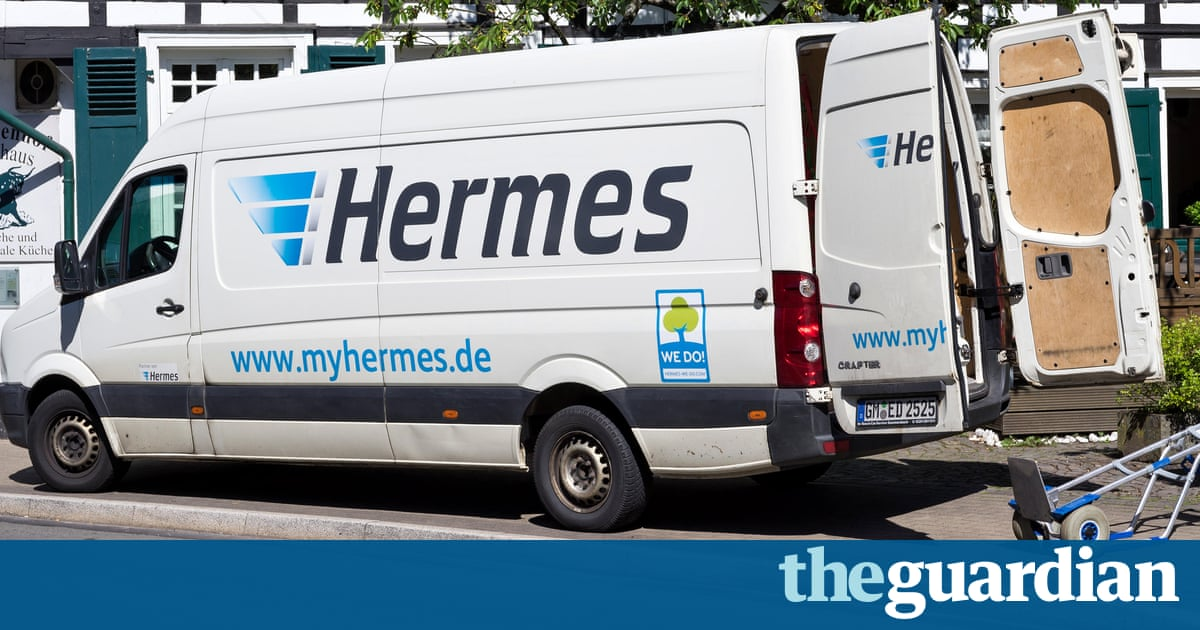 Hermes couriers rebel over 20 days non-stop Christmas workload