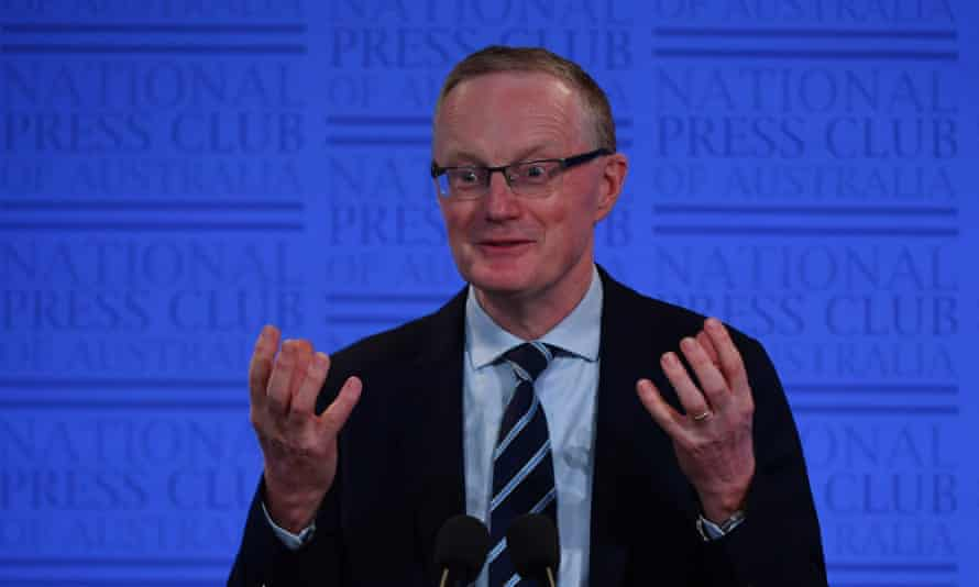 Reserve Bank governor Philip Lowe