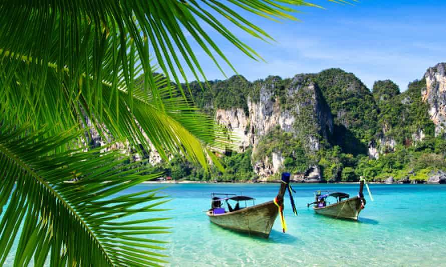 A beach on Thailand's Andaman coast.