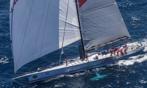 Wild Oats XI sets a cracking pace after the start of the Sydney Hobart yacht race
