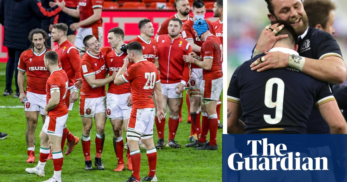 Wayne Pivac savours Wales's Six Nations title after Scotland's victory