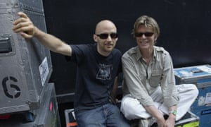 Moby and Bowie … neighbours.