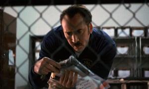 Best-laid plans … Nicolas Cage in The Trust.