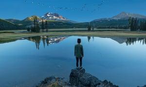Sparks Lake, near Bend, Oregon.