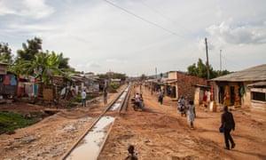 The Namuwongo settlement