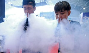 Research shows young males are draw to vaping for the tricks they can perform