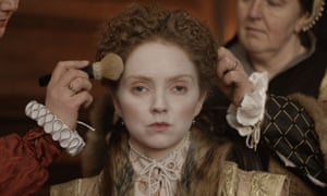 'Her life was so peculiar' … Lily Cole as Elizabeth I.