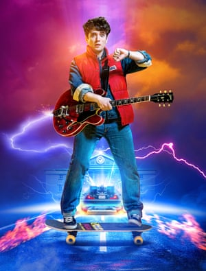 Olly Dobson as Marty McFly in Back to the Future: The Musical.
