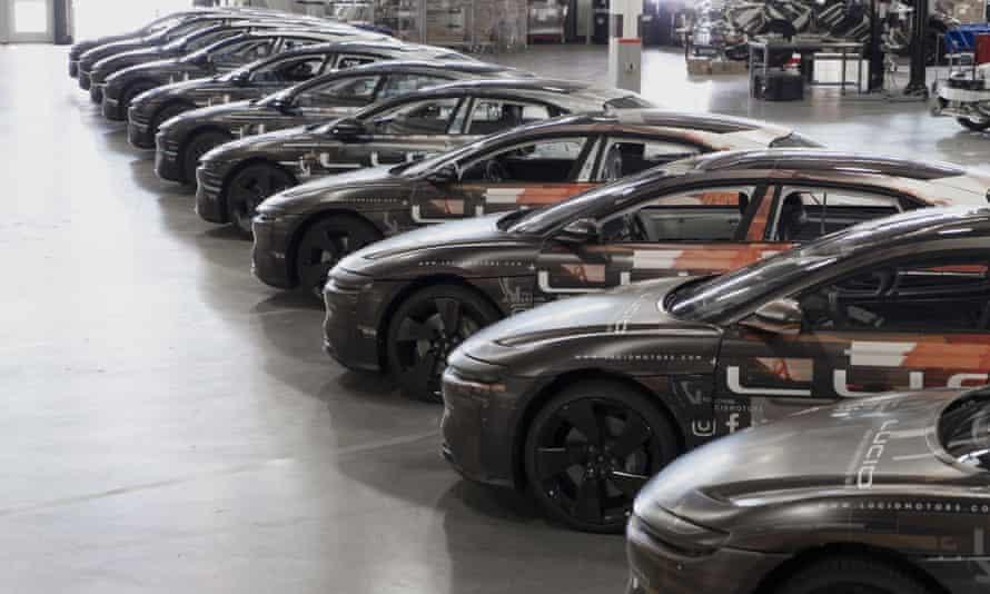 Lucid Motors' Air luxury electric car.