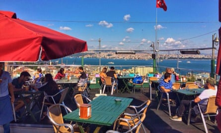 Konak bar cafe restaurant, Istanbul