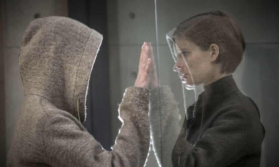 The 'icily compelling' Kate Mara, right, in Morgan.