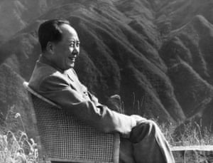 Mao Zedong on holiday in 1961 in Lushan. He died 40 years ago on 9 September 1976.