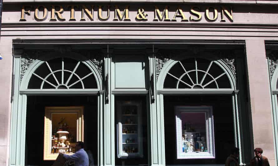 Fortnum & Mason's flagship in London's Piccadilly