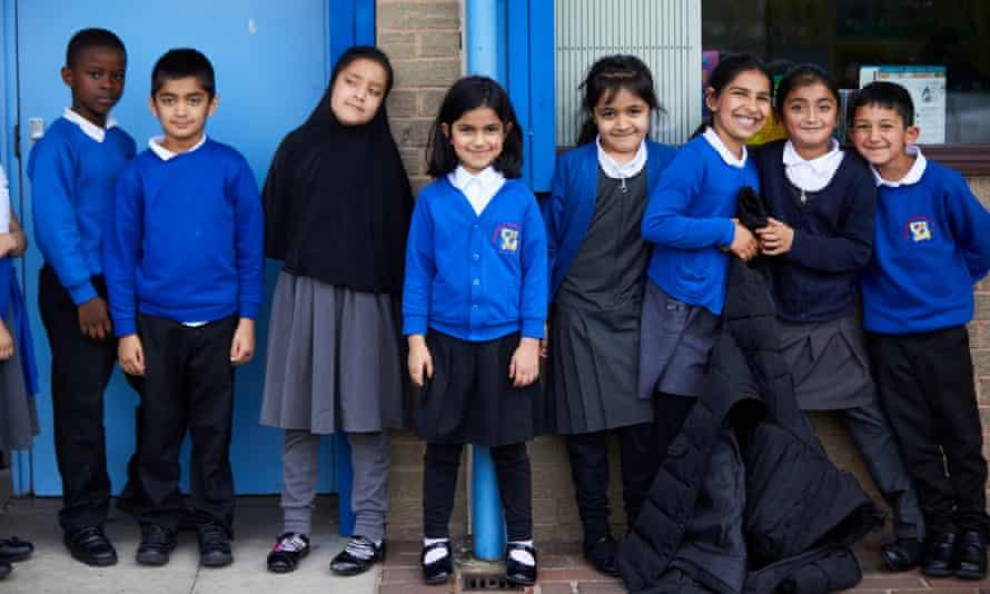 children from Feversham academy, Bradford