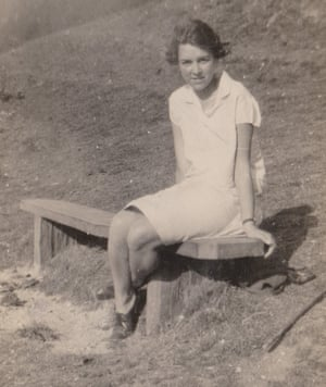 A novelist's eye … the young Doreen Bates.