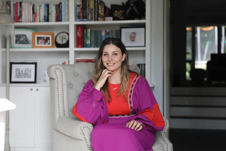 Sarah Ayoub says she harbours 'mixed feelings' about buying secondhand clothes.