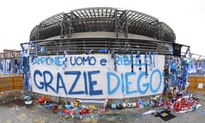 The former Stadio San Paolo has been officially renamed as the Stadio Diego Armando Maradona.