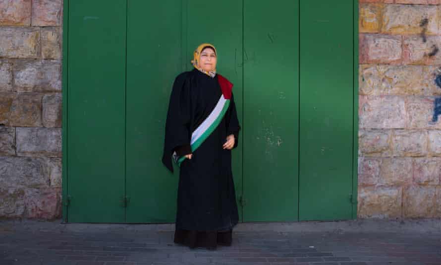 Dr Kholoud al-Faqih in The Judge.