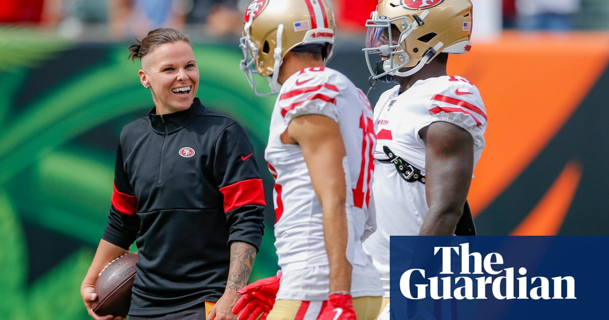 Katie Sowers: The 49ers didnt hire me as a coach to make a point