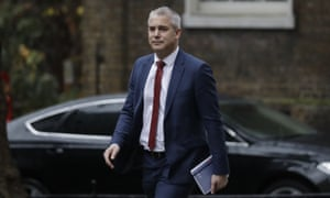 Stephen Barclay, head of the soon to be wound up Brexit department.