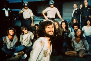 Helter Skelter, released in 1971 and starring Steve Railsback, is one of the many films and documentaries about the Manson Family