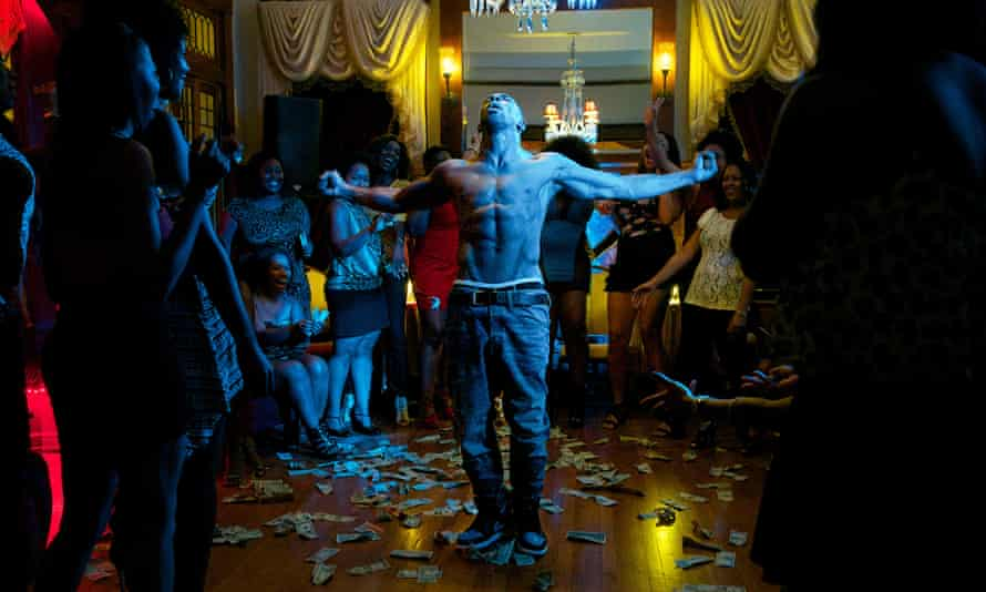 """This photo provided by Warner Bros. Pictures shows, Stephen """"Twitch"""" Boss as Malik, in Warner Bros. Pictures', """"Magic Mike XXL,"""" a Warner Bros. Pictures release. (Claudette Barius/Warner Bros. Pictures via AP)"""