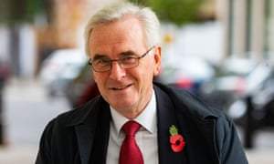 Labour's John McDonnell has suggested the party could try to include a pledge to reduce the working week at the next election.