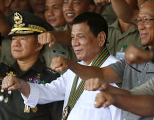 Eduardo Ano, Rodrigo Duterte, Delfin Lorenzana