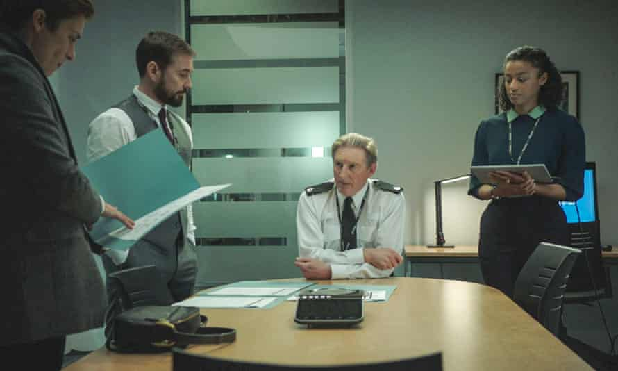 On the case … Ted and team in series six of Line of Duty.