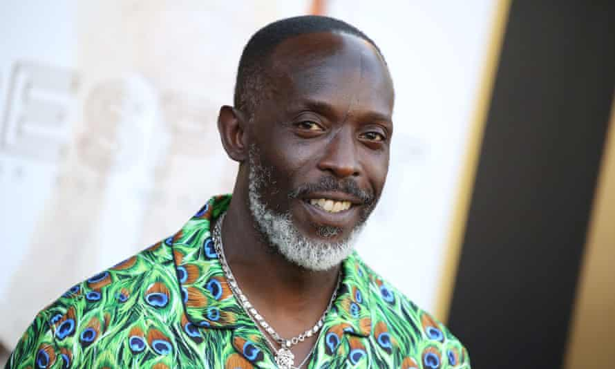 The actor Michael K Williams, who has died at the age of 54.