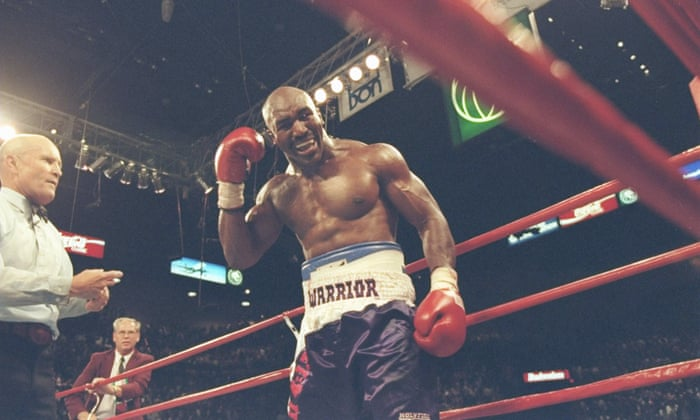 From the Vault: Mike Tyson bites Evander Holyfield in both