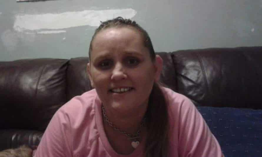 Wiradjuri woman Rebecca Maher, 36, who died in custody in the cells of the Maitland police station on 19 July.