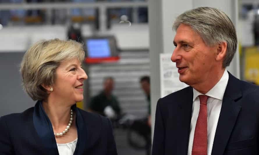 Theresa May and Philip Hammond share a similar sensibility.