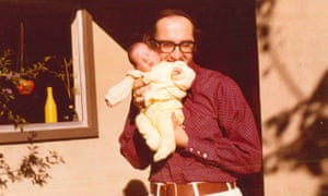 Peter Savodnik with his father.