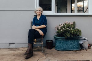 Photographer Hilary Wardhaugh at her home in Canberra