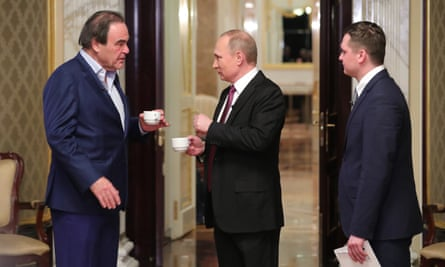 Oliver Stone Quizzes Vladimir Putin On Snowden In First Clip From Documentary Us Television The Guardian