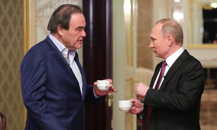 Oliver Stone On Vladimir Putin The Russian People Have Never Been Better Off Documentary The Guardian