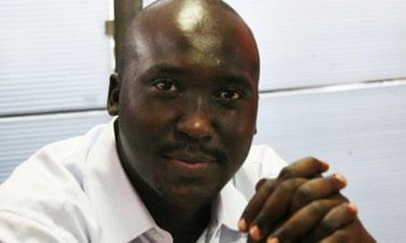 Kenyan journalist and editor Denis Galava.