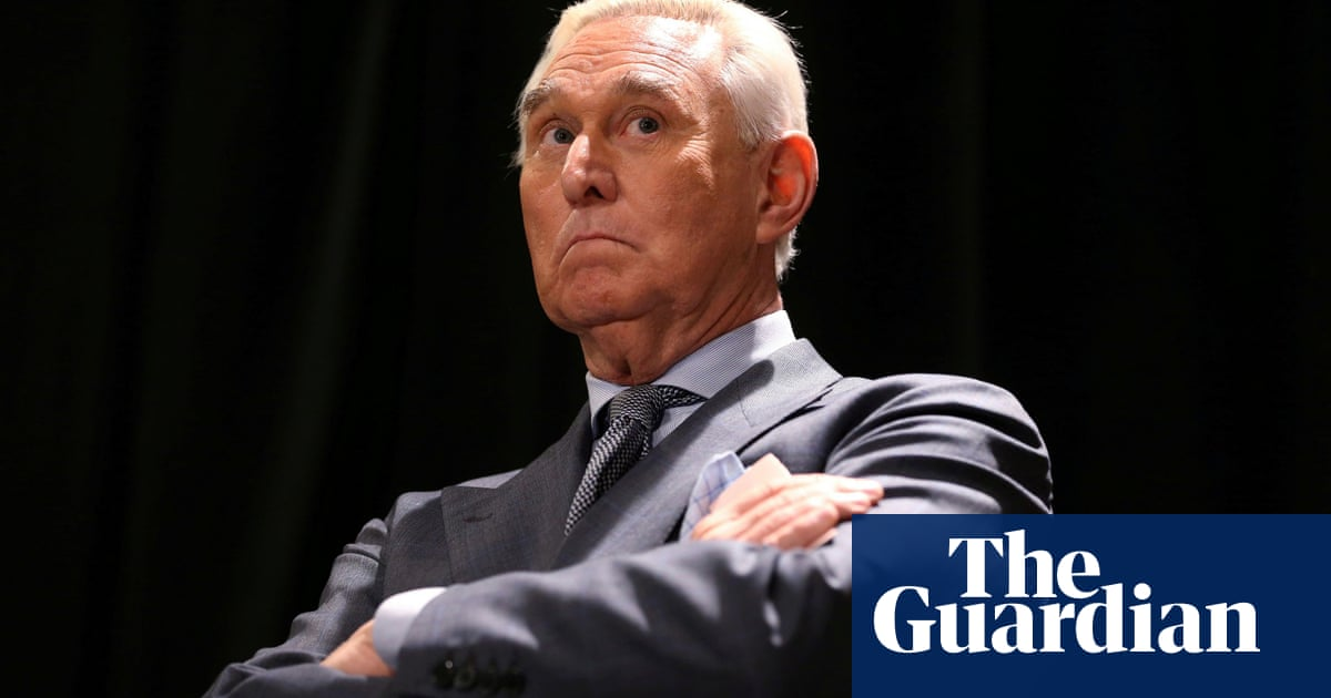 Roger Stone uses racial slur on black radio host's show – The Guardian