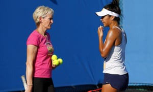 Judy Murray and Heather Watson share views as they prepare to form an unlikely partnership for the Australian Open.