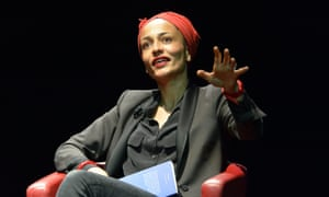 Dropping her inhibitions … Zadie Smith.