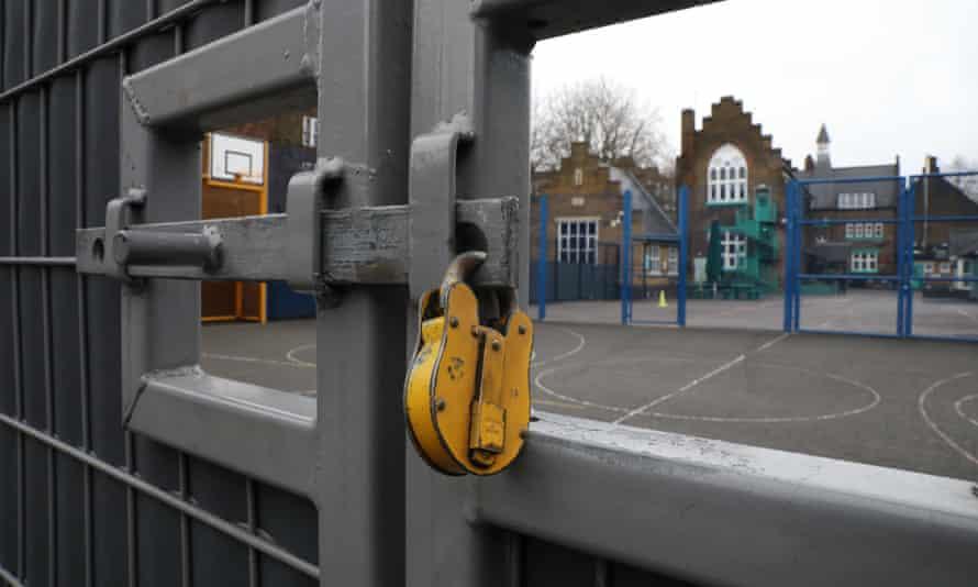 locked school