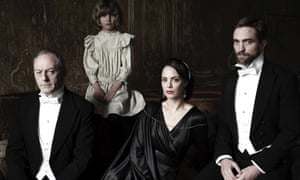 From left: Liam Cunningham, Tom Sweet, Berenice Béjo and Robert Pattinson.