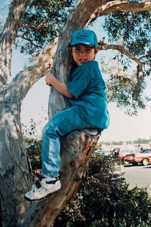 Nicholas Manzoni as a child