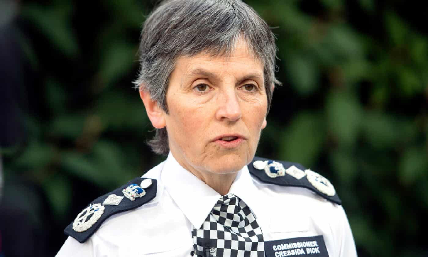Cressida Dick calls for public consent on data use to help battle crime