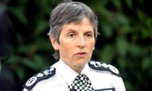 Met police commissioner, Cressida Dick