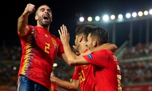 Spain have rattled in the goals against Croatia to take charge of their Nations League group.